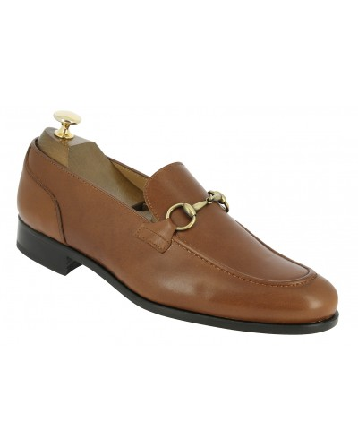 Moccasin shoe Center 51 Classico Sphynx brown leather