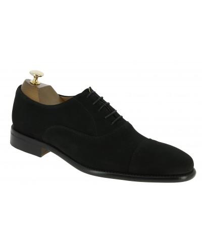 Oxford shoe Berwick 2844 black suede