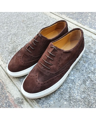 Oxford Sneakers Center 51 Lighfield brown suede