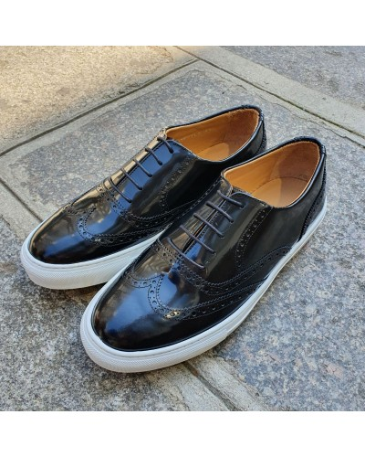 Oxford Sneakers Center 51 Lighfield black leather