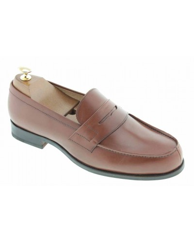 Moccasin Center 51 1961 Tod brown leather