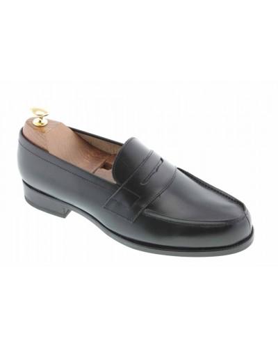 Mocassin Johann 1961 cuir noir