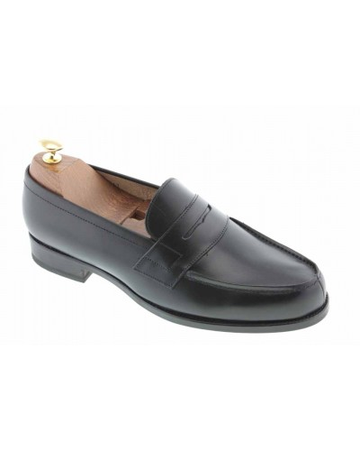Moccasin Center 51 1961 Tod black leather