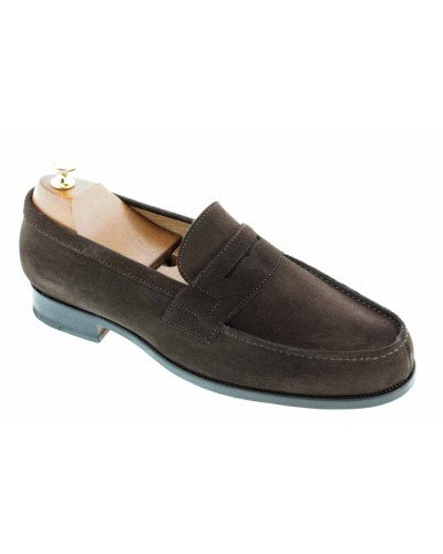 Moccasin Center 51 1961 Tod brown suede