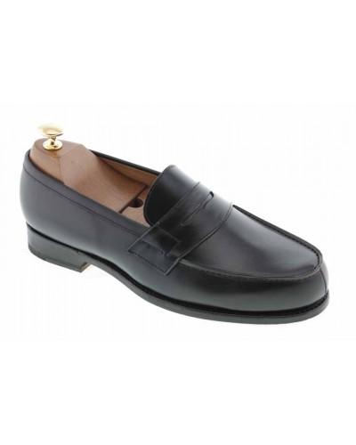 Moccasin Center 51 2906 Dan black leather