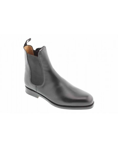 Bottine John Mendson 6192 cuir noir
