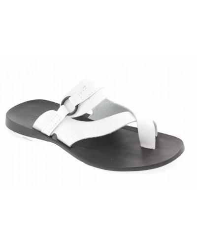 Sandals Zeus 1172 white leather