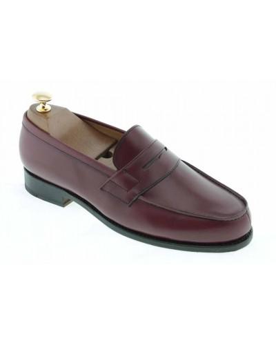 Moccasin Center 51 2906 Dan burgundy leather