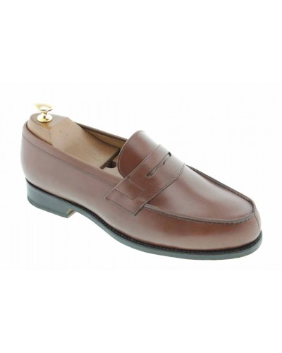 Moccasin Center 51 2906 Dan brown leather